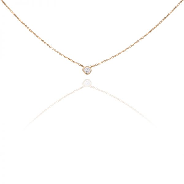 Mono Jasmin stone necklace-0