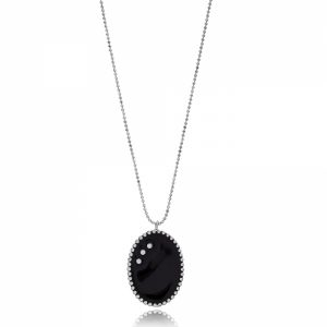 Lura Black necklace-0